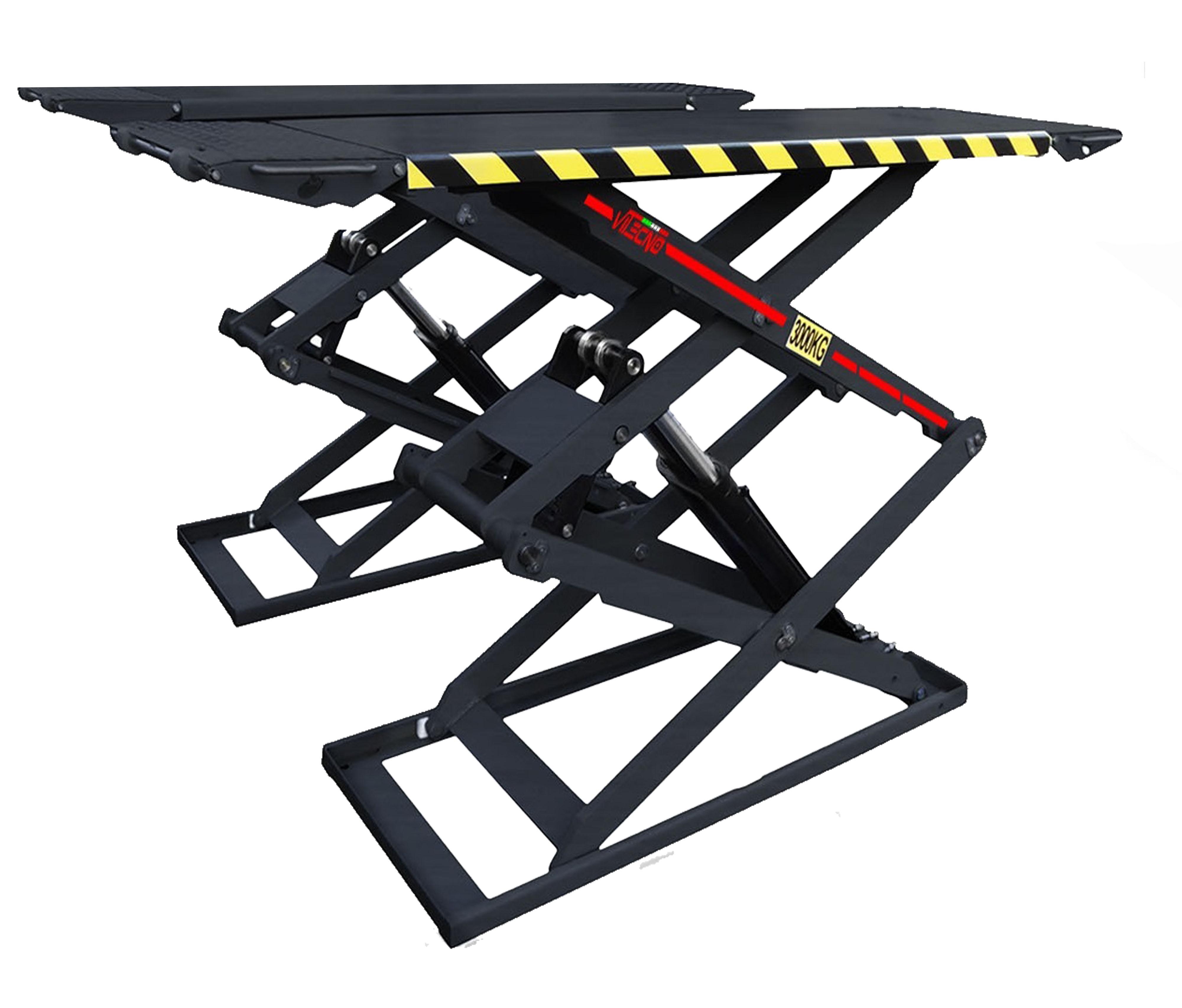 Sollevatore a forbice da appoggio 2m attrezzatura per for Ponte sollevatore auto 220v