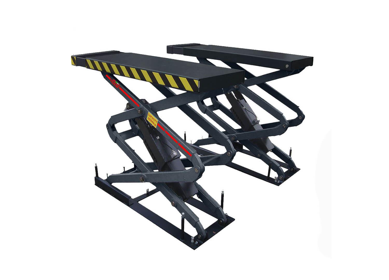 Sollevatore a forbice ad incasso 2m attrezzatura per for Ponte sollevatore a forbice